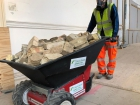 Nu-Star Electric Wheelbarrows set to save man hours at prestige London construction project