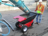 Electric Wheelbarrow to move concrete