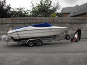 MUV Trailer Mover moving boat trailer
