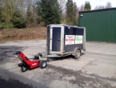 MUV Trailer Mover with 1,000Kg single axle trailer