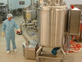 Stainless Steel PowerTug in Pharmaceutical laboratory