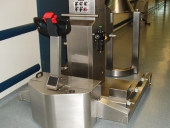 Stainless Steel PowerTug with twin legs at Wyeth Medica