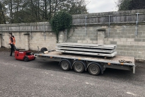 HD Trailer Mover towing 4,500Kg Ifor Williams Trailer