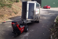 MUV-Trailer Mover towing 1,000Kg single axle trailer