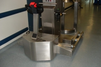 Stainless steel PowerTug for pharmaceutical equipment at Wyeth