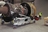 Super Power Pusher moving Aero engine