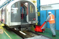 Super Power Pusher pushing 18,000Kg rolling stock