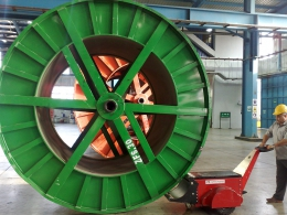 Second Cable Drum Pusher for El Sewedy Electric in Egypt