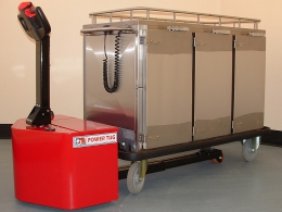 Second PowerTug for HMP Winchester for moving heated food trolleys