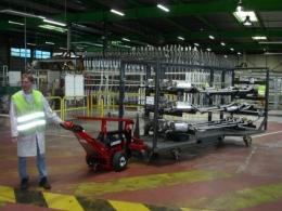 First Power Pusher for Faurecia, France