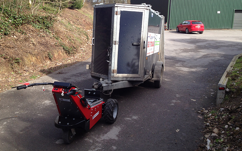 Nu Star Electric Tug Trailer Movers Moving Industrial Trailers