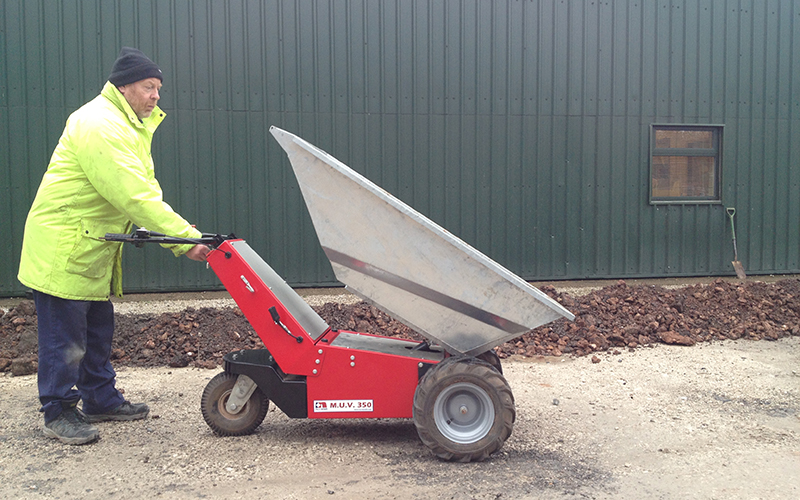 Electric Powered Wheelbarrow Sale Hire Direct From
