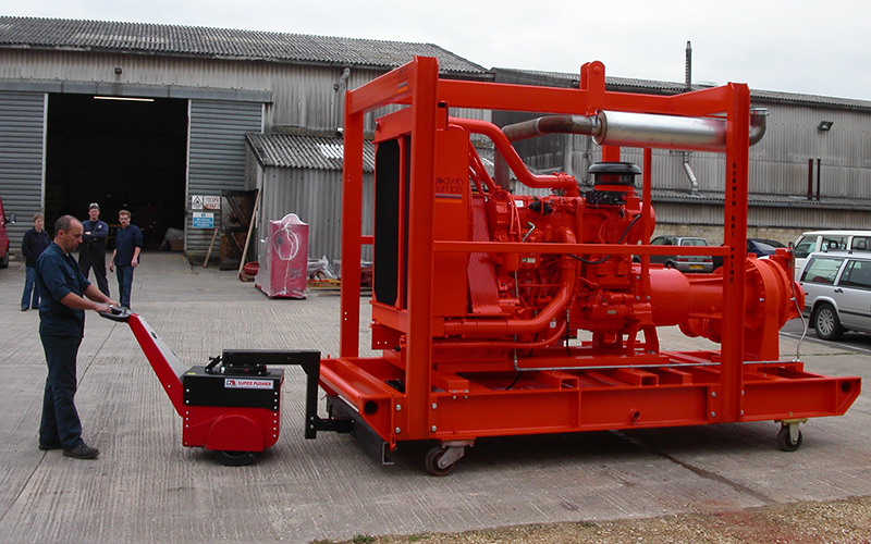 Super Power Pusher Electric Tow Tug   Nu-Star MHL