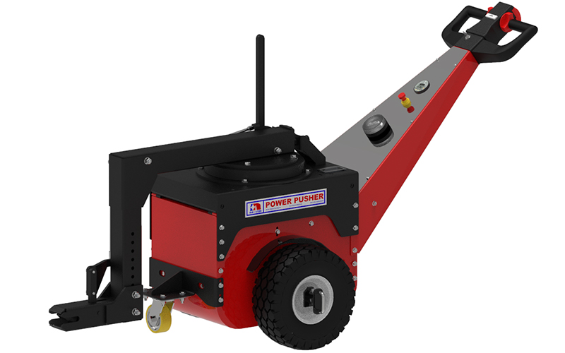 Nu-Star Power Pusher Electric Tug with Steering Arm for the Ceramic Industry