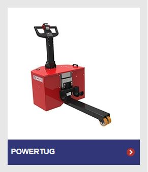 Nu-Star PowerTug for moving loads with all swivel castors