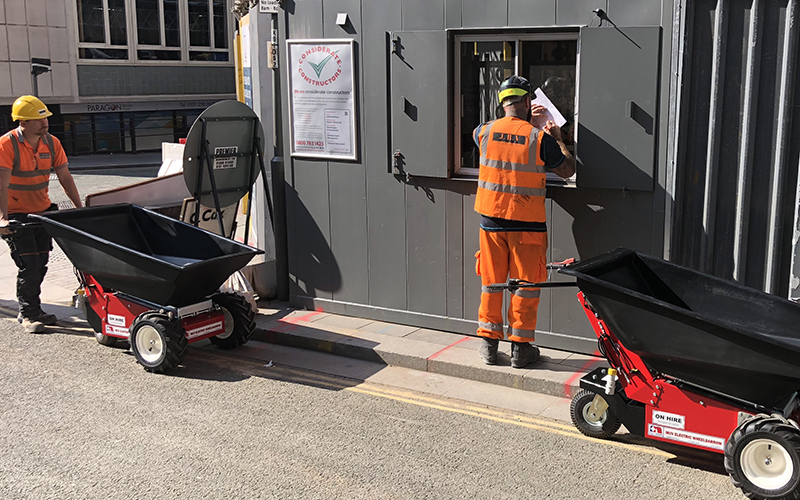 Electric Wheelbarrow Hire with Nu-Star