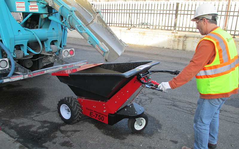 Electric powered wheelbarrow sale hire direct from for Motorized wheelbarrows for sale